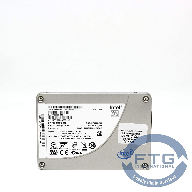 Amazon.com: 583512-002 / SSDSA2M080G2HP Intel 80GB SSD 2.5
