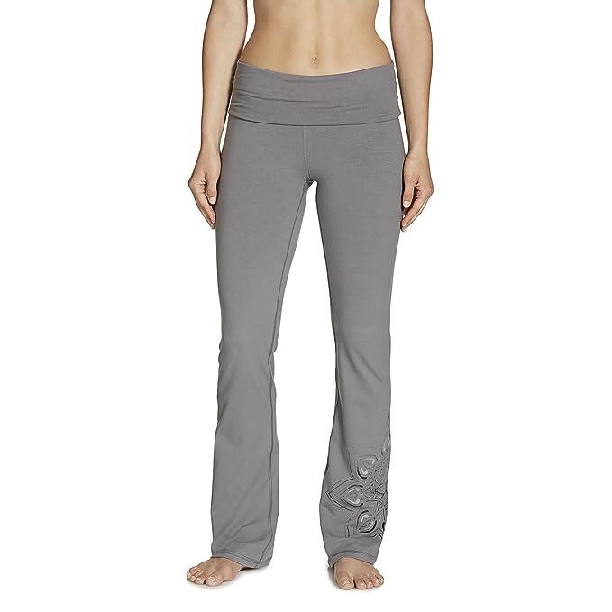 d98ad730328f13 Amazon.com : Gaiam Apparel Womens Nova Bootcut Pants : Clothing