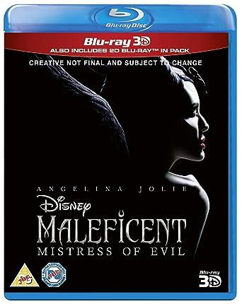 Maleficent Mistress Of Evil 3d Blu Ray 2019 Region Free