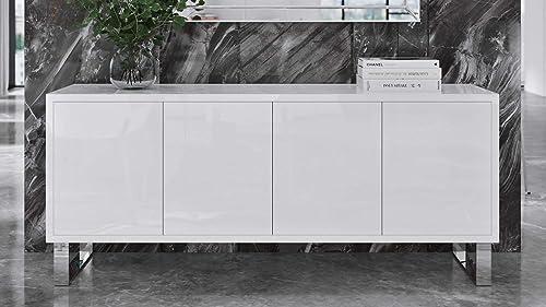 Zuri Furniture Modern Neve Sideboard