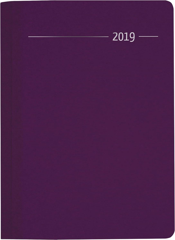 "Agenda Giornaliera Silk Line 2019 ""Zaffiro"" 15X21 Cm"