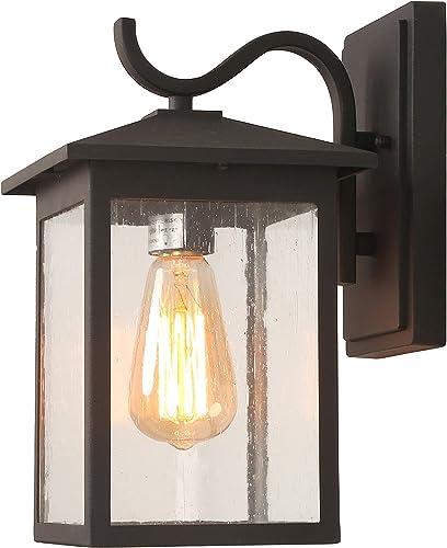 LALUZ Rectangle Outdoor Wall Lights Farmhouse Front Porch Light