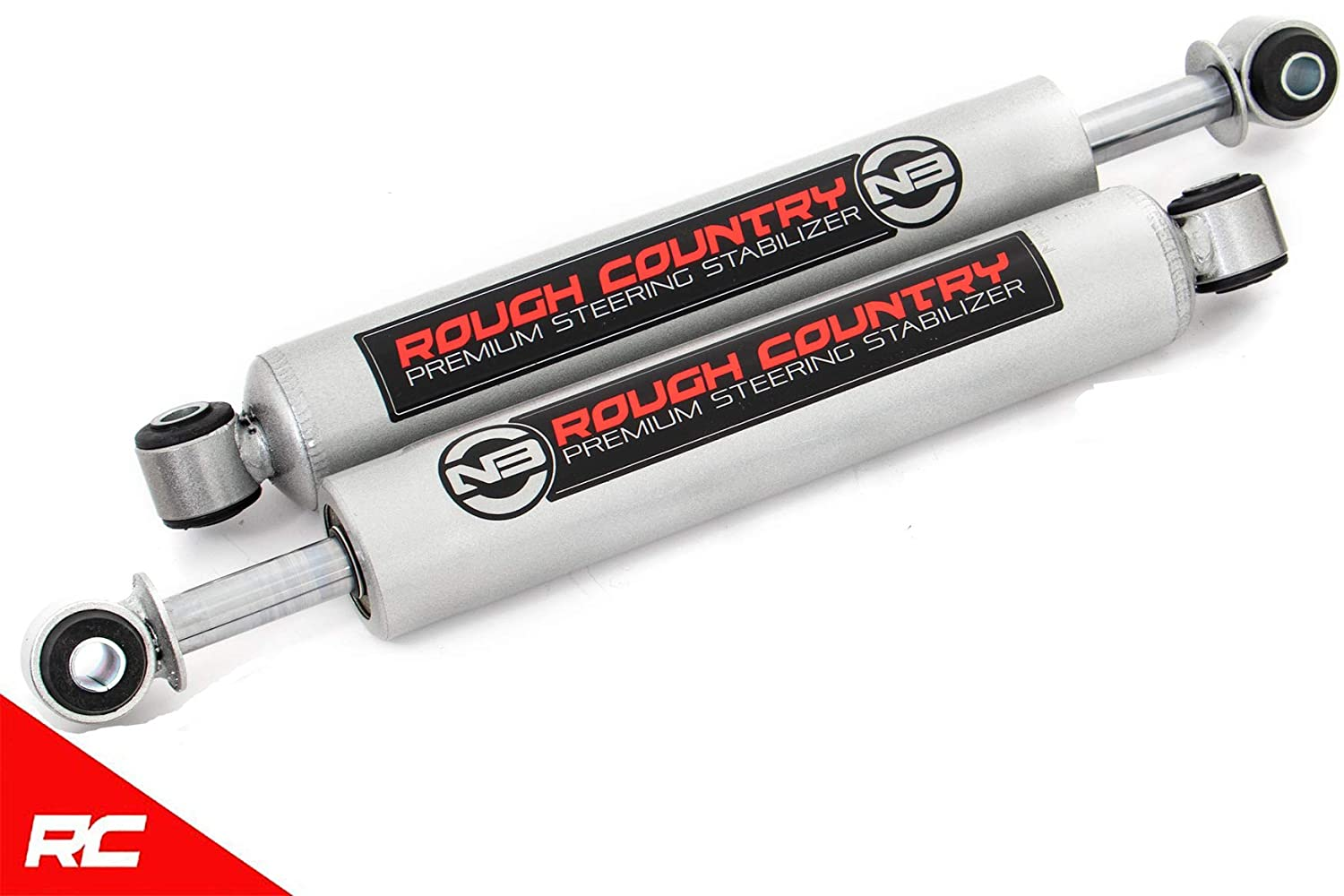 Rough Country 8749130 Steering Stabilizer