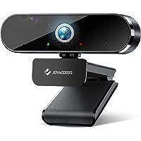 Camara web con micrófono, cámara web de aluminio HD 1080P para Windows, Mac, computadora portátil, micrófono de…
