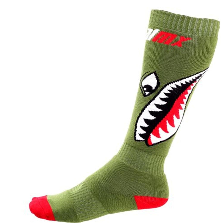 O'Neal Pro MX Sock Bomber Green One Size Kniestrümpfe F O' Neal