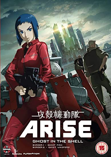 Ghost In The Shell Arise: Borders Parts 1 And 2 DVD by Kazuchika Kise: Amazon.es: unknown, Kazuchika Kise, Masahiko Murata: Cine y Series TV