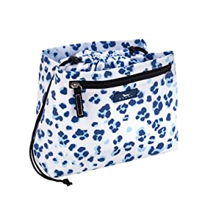 SCOUT Glam Squad Makeup Bag, Water Resistant Makeup Pouch and Toiletry Bag for Women with Drawstring Closure and Zipper Compartments