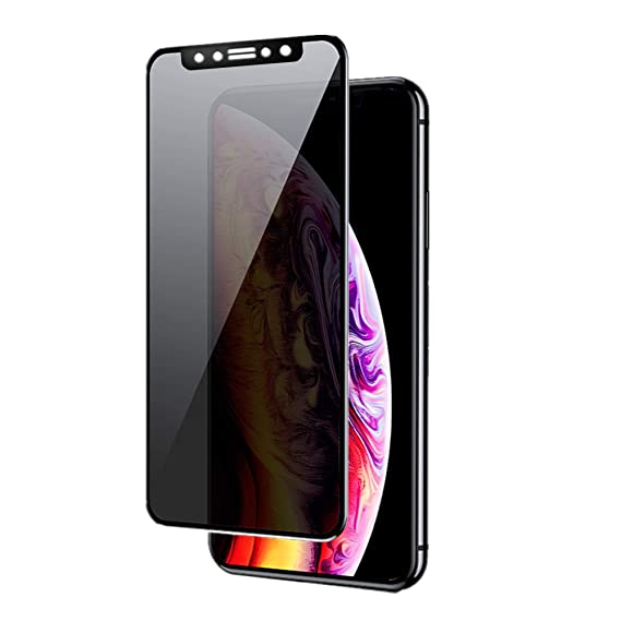 purchase cheap a33bf 1e1b1 iPhone XR Privacy Screen Protector, LankXin Anti-Spy Tempered Glass  Protector Film for iPhone XR 99.9% HD and Shatter-Proof Shield