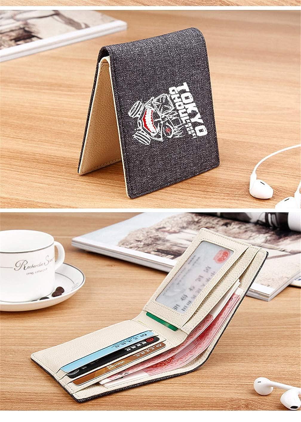 Evangelion EVA Billfold Bifold Leather Wallet Card Holder Purse Coin Bag Cosplay