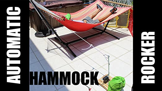 automatic electric hammock rocker to swing hammocks and other swinging outdoor furniture   amazon co uk  garden  u0026 outdoors automatic electric hammock rocker to swing hammocks and other      rh   amazon co uk