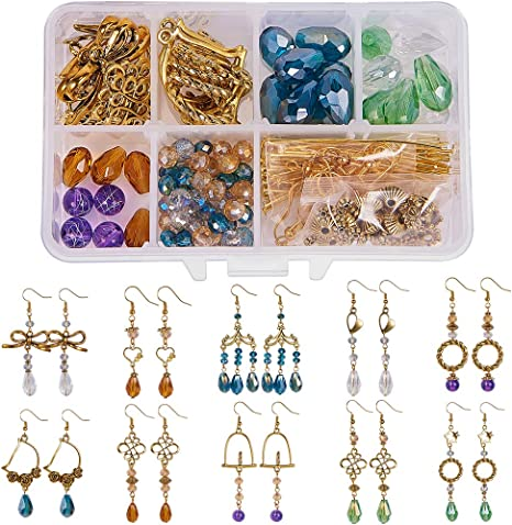 Jewelry Making Earring Connectors Jewelry Findings Hoop Earrings Bead Connectors