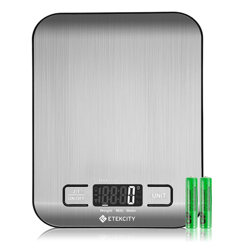 Etekcity Food Digital Kitchen Scale Weight Grams
