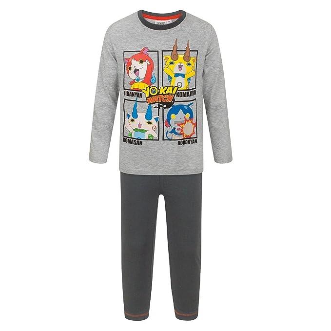 Yo-Kai Watch - Pijama Infantil con Personajes: Amazon.es: Ropa y accesorios