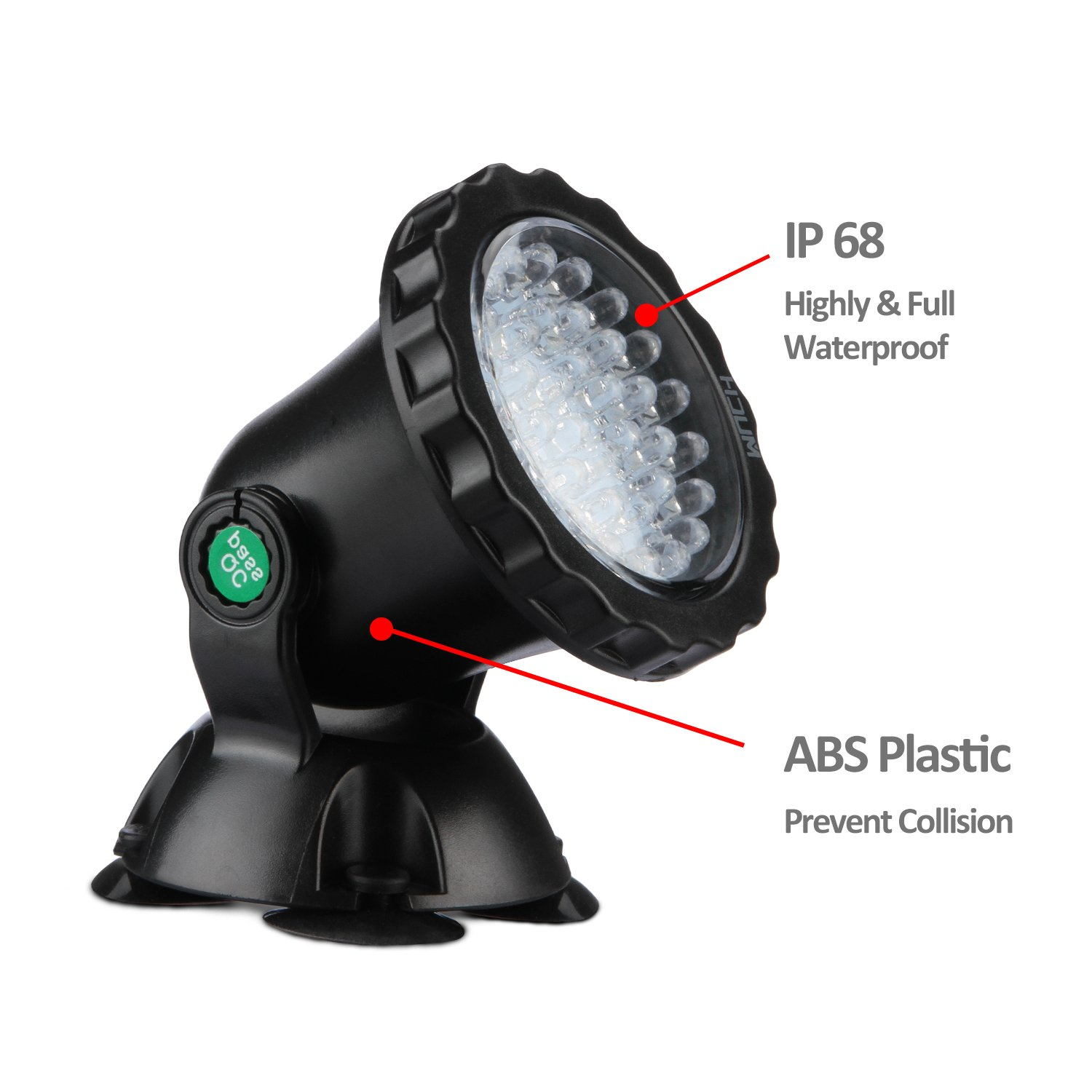 Lights & Lighting Lower Price with 10w 12v Led Underwater Fountain Light Flash Waterproof Light Under Water Led White Light For Boats Ip67 Attractive And Durable