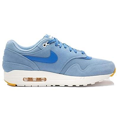 best website 025e8 e5752 Nike Men s Air MAx 1 Premium Work Blue Yellow Ochre Sail Mountain Blue