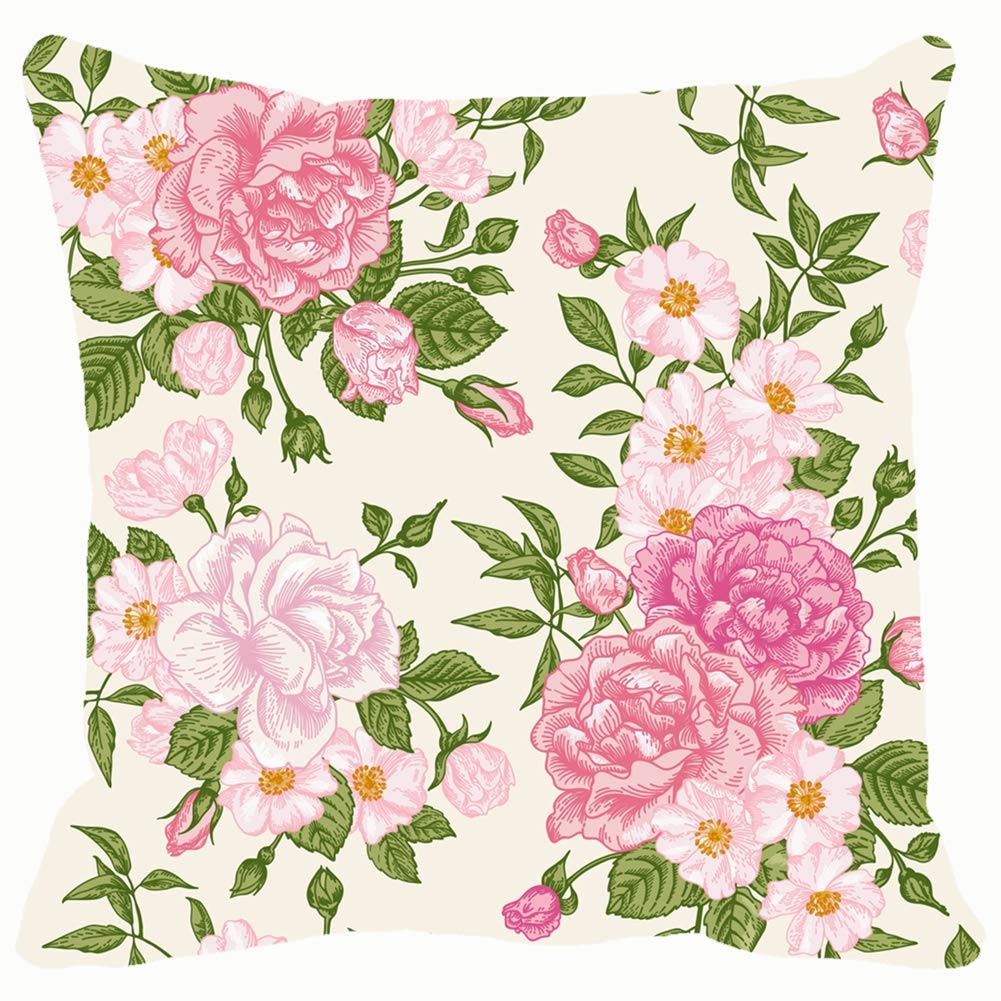 Amazon Com Romantic Seamless Pattern Pink Roses On Backgrounds