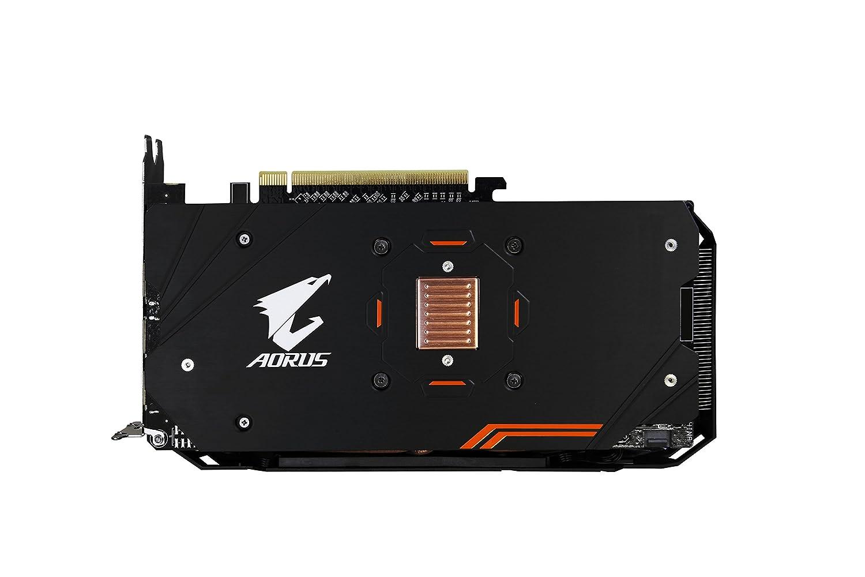 Gigabyte GV-RX580AORUS-4GD - Tarjeta gráfica (Radeon RX 580, 4 GB, GDDR5, 256 bit, 7680 x 4320 Pixeles, PCI Express x16 3.0): Amazon.es: Informática