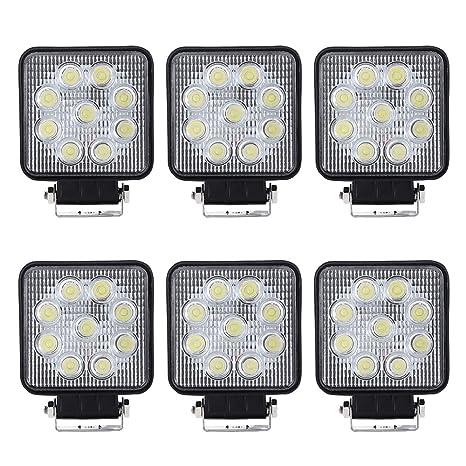 LED Faro da Lavoro Offroad 27W 6500K Bianco