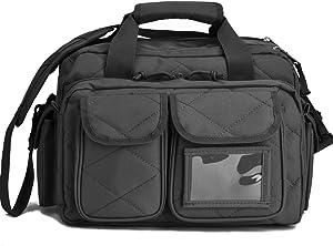 REEBOW TACTICAL Tactical Gun Range Bag, Deluxe Pistol Shooting Range Duffle Bags