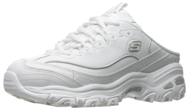 Skechers レディース B07B8WKCYM 38 M EU / 7.5 B(M) US|ホワイト ホワイト 38 M EU / 7.5 B(M) US