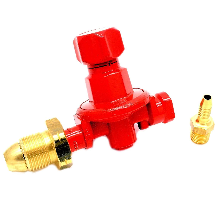 CALOR GAS Brand .5-4 Bar Adjustable Propane Gas Regulator 8Kg/H 5 Yr Warranty