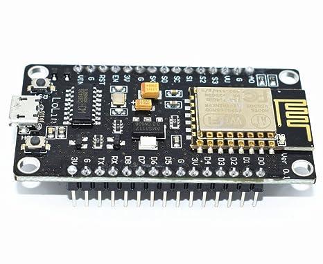 ESP8266 microcontroller NodeMCU Lua V3 WiFi with CH340G