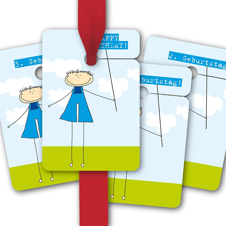 Kinder Geburtstags Geburtstags Geburtstags Geschenk Anhänger   Papieranhänger   Geschenk Karten (80Stk) zum 1, 2, 3. und Geburtstag für Buben  Happy Birthday    1. Geburtstag    2. Geburtstag    3. Geburtstag  c407aa