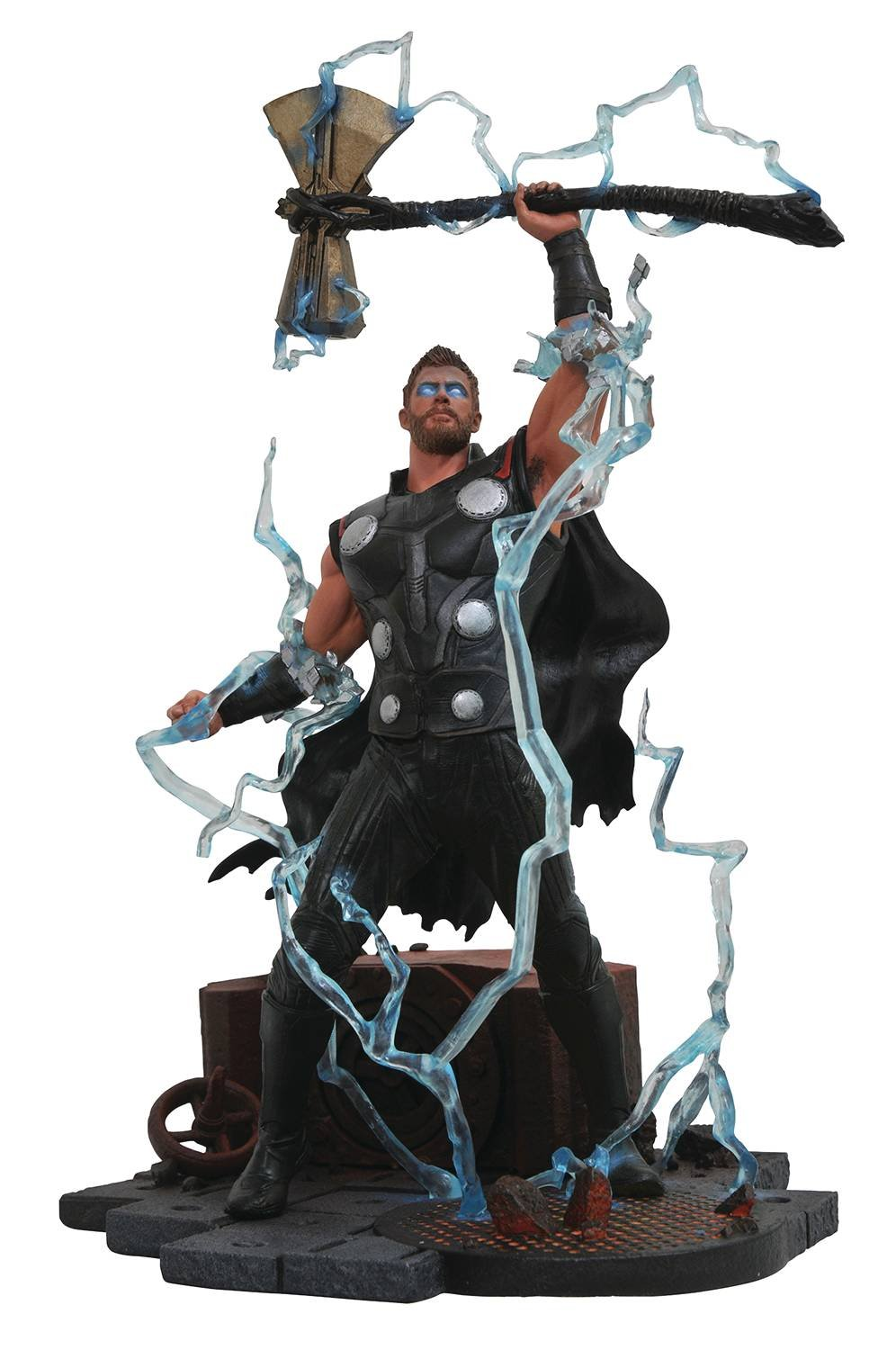 Infinity War Thor Action Figure New Hammer, Avengers, Infinity War, Marvel Universe, MCU, Iron Man, Thor, Thanos, cosplay gear, action figures, Marvel items, Hulk, Spider Man, Captain America, Black Widow, Doctor Strange,