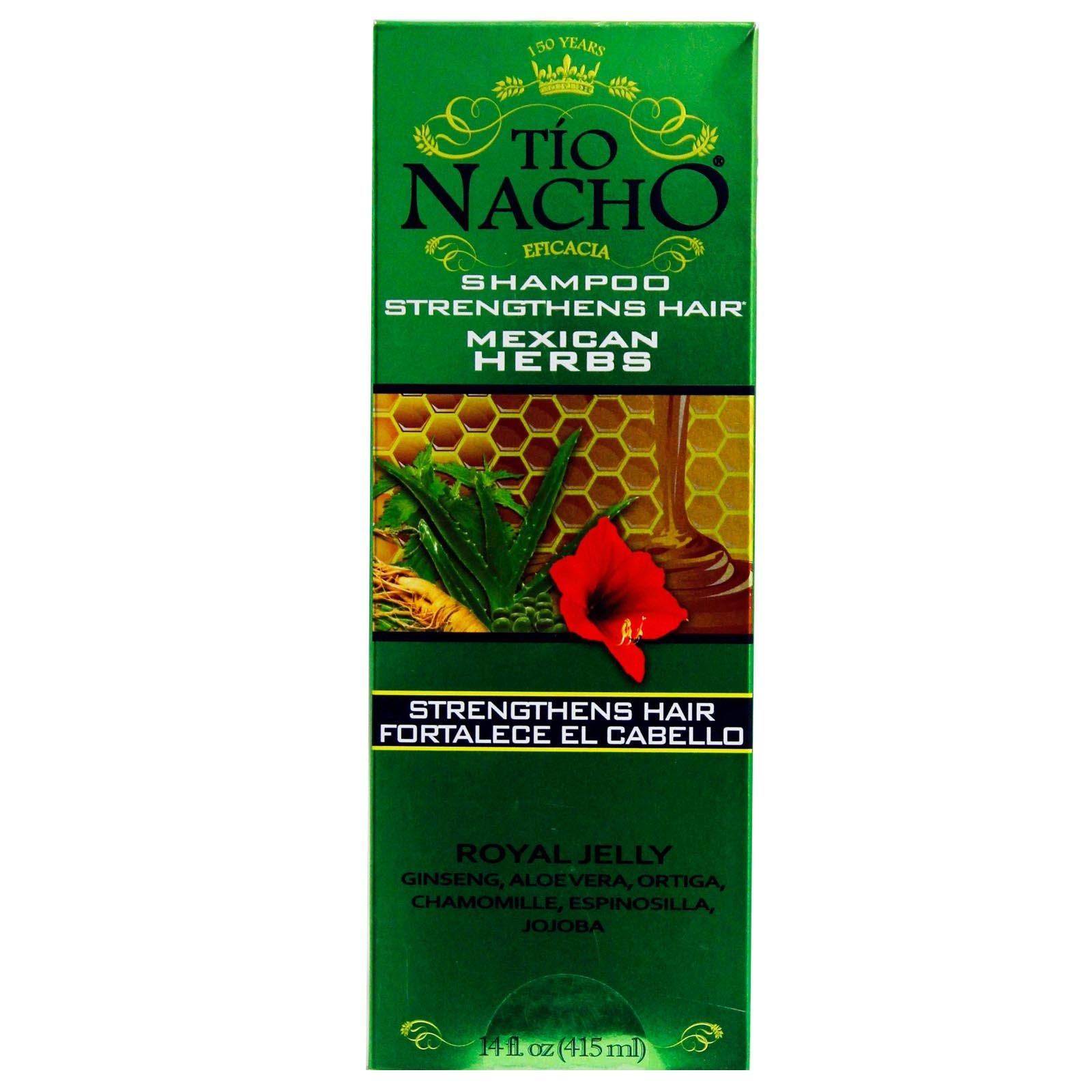 TIO NACHO Mexican Herbs Shampoo 14 oz (Pack of 6) by Tio Nacho