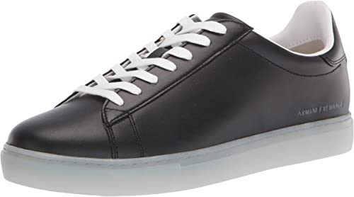Low Rise Leather Lace Up Sneaker