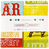 """Garden Project Moda Charm Pack By Tim & Beck; 42 - 5"""" Quilt Squares"""