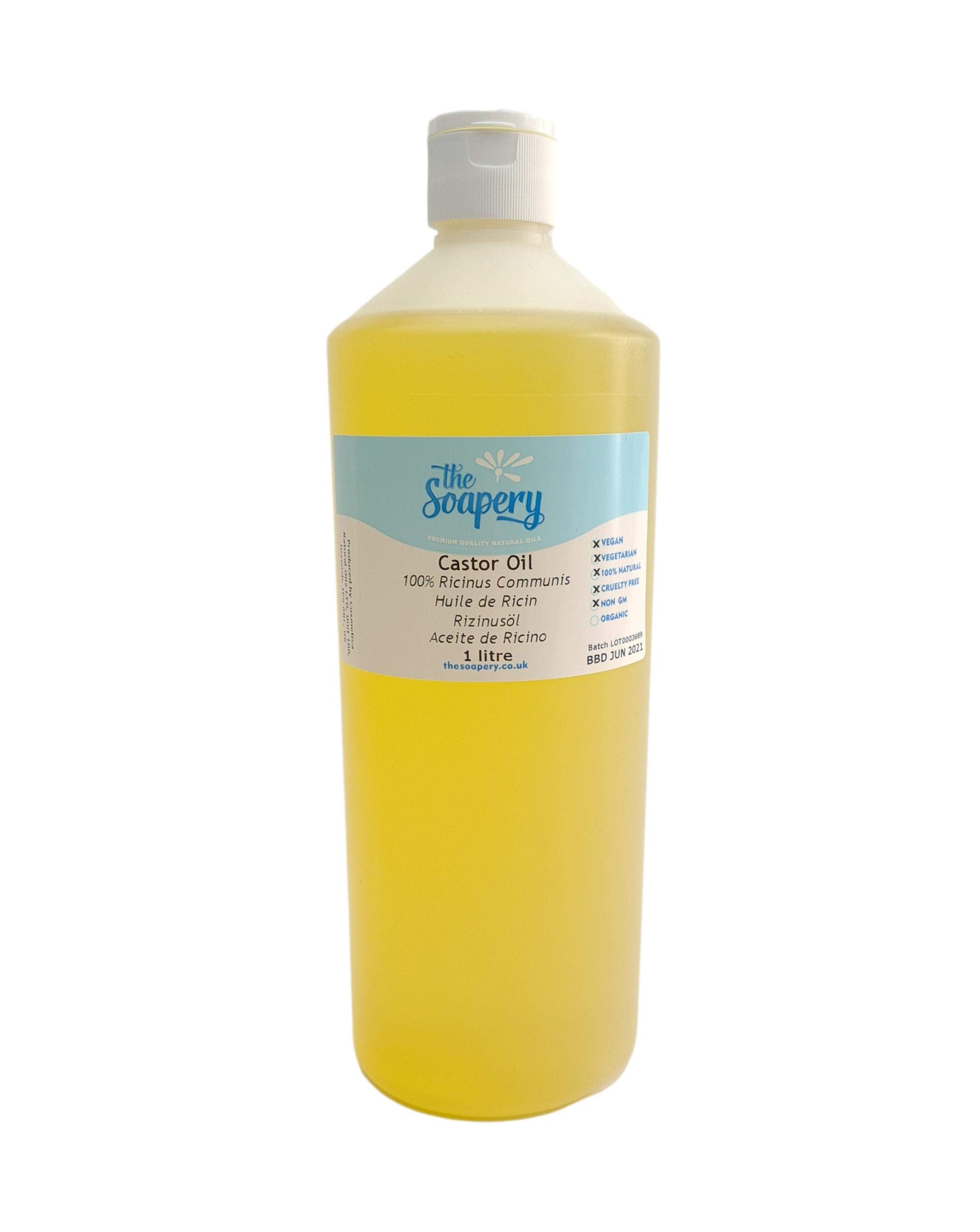 Castor Oil - 1 Litre - Pure and Cold Pressed