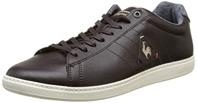 Herren Courtcraft S Sneaker, Braun (Reglisse), 40 EU Le Coq Sportif