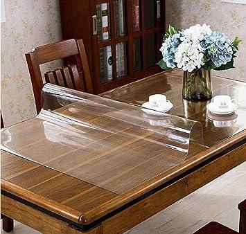 Tischfolie Tischdecke Schutzfolie  PVC  80 cm Breite transparent 1,6 mm