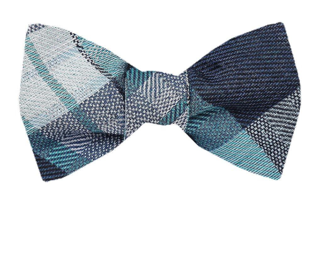 FBTZ-1302 Mens Silk Self Tie Bowtie Tie Yourself Bow Ties