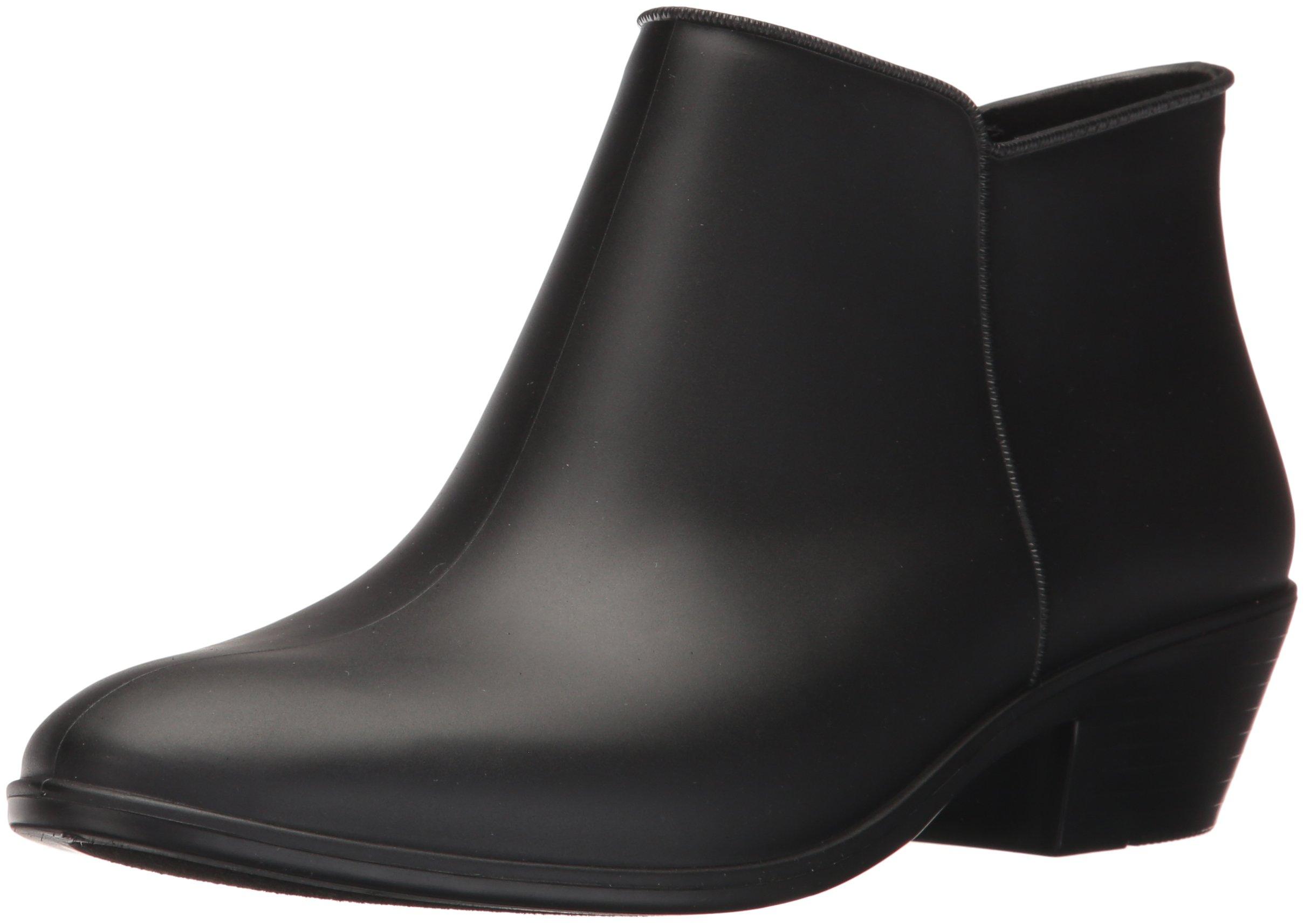 Sam Edelman Women's Petty Rain Boot, Black Matte, 11 Medium US