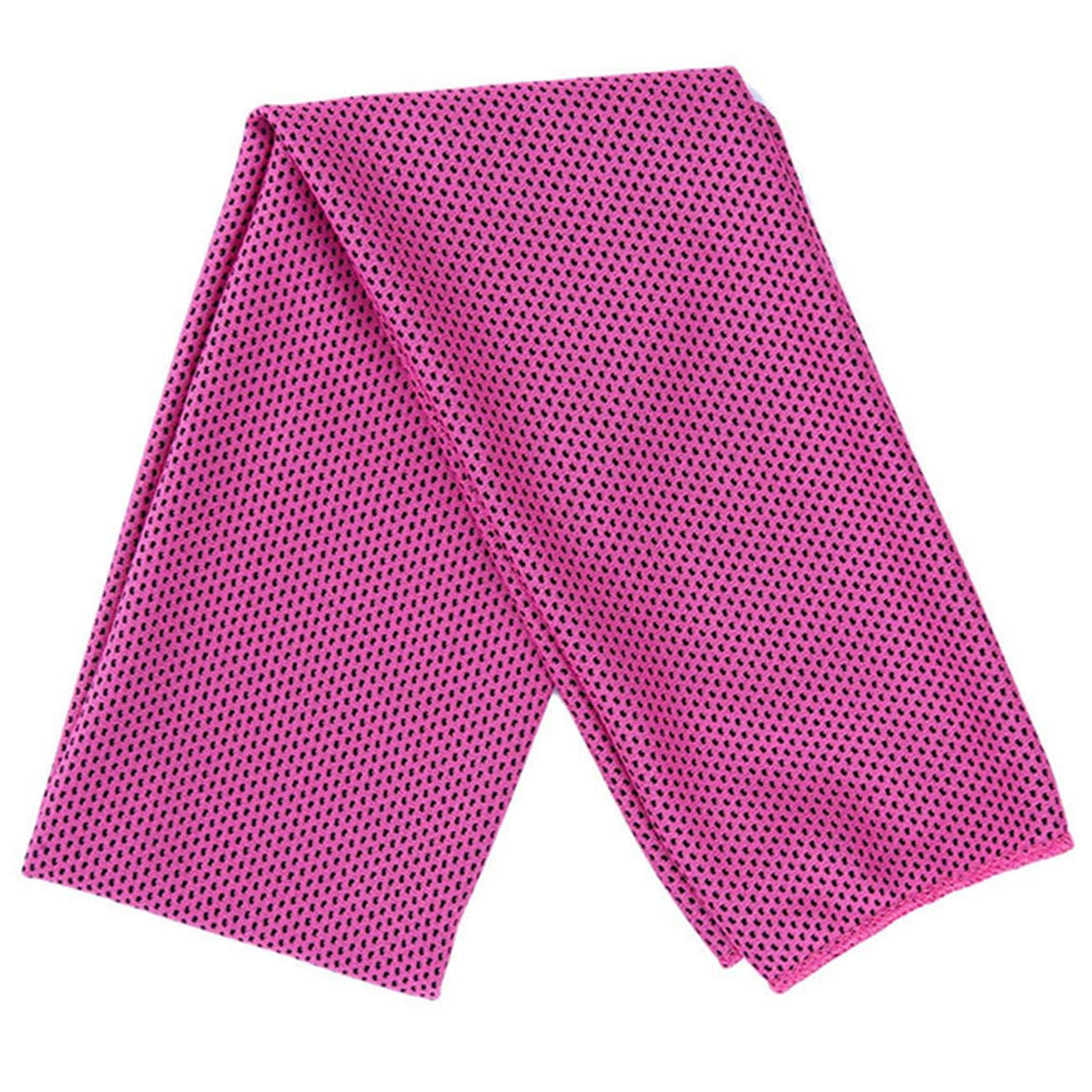 Botreelife Cooling Towel Instant Relief Ice Cold Soft Breathable Chilly Towel for Yoga Beach Gym Swimming Camping