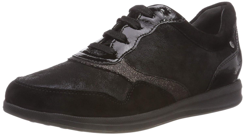 Tamaris 23603-21, Zapatillas para Mujer 42 EU|Negro (Black Comb 98)