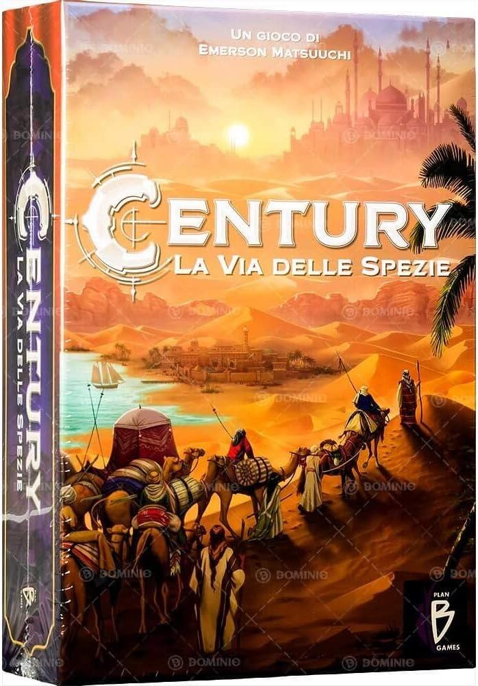 Asmodee- Century, la vía de Las Especias, 7505: Amazon.es: Juguetes y juegos