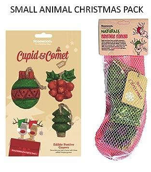 christmas xmas festive small animal christmas stocking rabbits hamsters treats small animal stocking armi tage