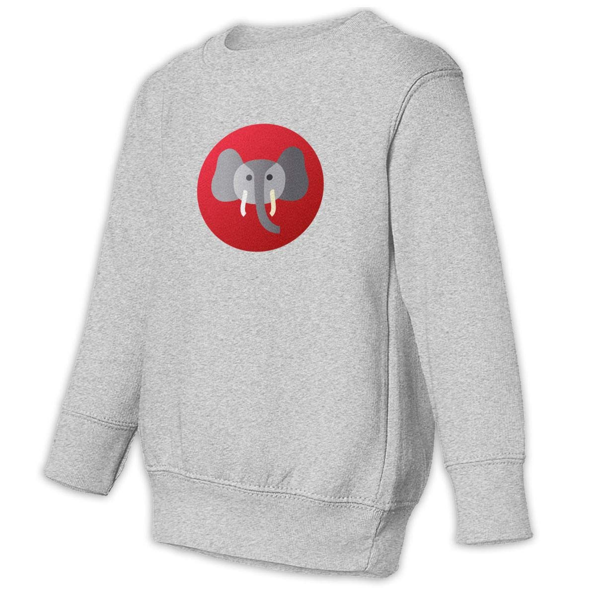 Fleece Pull Over Sweatshirt for Boys Girls Kids Youth Elephant Unisex Toddler Hoodies