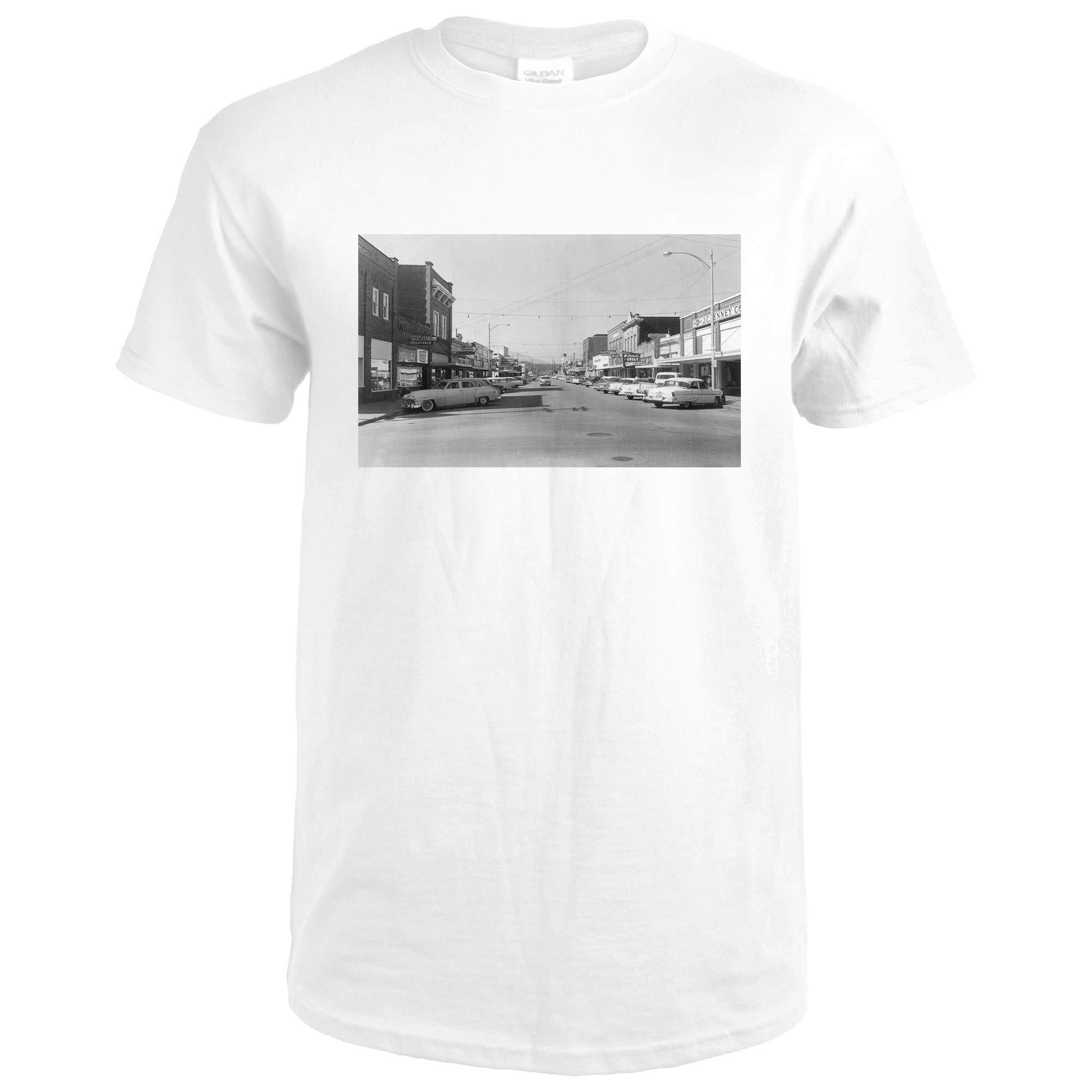 Sedro Woolley, Washington Street Scene, View Of Jc Penney's 12793 Xx Shirts
