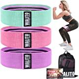 Walito Resistance Bands for Legs and Butt,Exercise Bands Set Booty Bands Hip Bands Wide Workout Bands Sports Fitness…