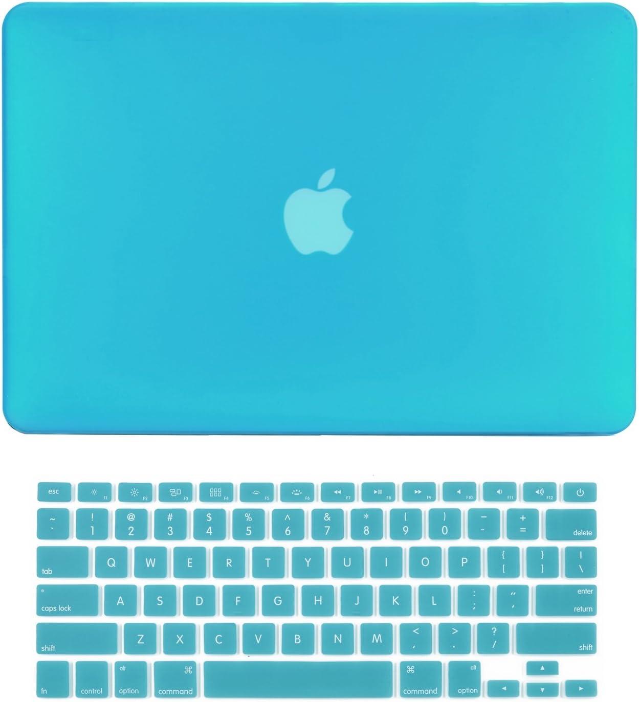 Funda Protector Teclado Para Macbook Air 13 A1369 A1466 aqua