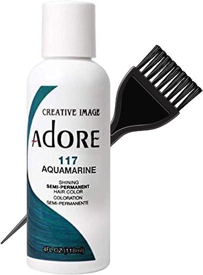 Creative Image Systems Adore Adore Imagen creativa Luminoso semi-permanente color de cabello (estilista Kit) Sin amoníaco, peróxido No, nada de ...