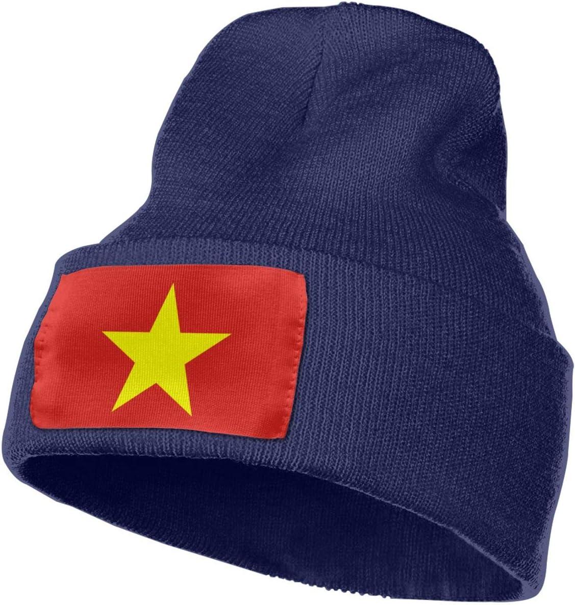 Thick Warm /& Stylish Winter Hats Black MACA Vietnam Unisex Slouch Beanie Hats