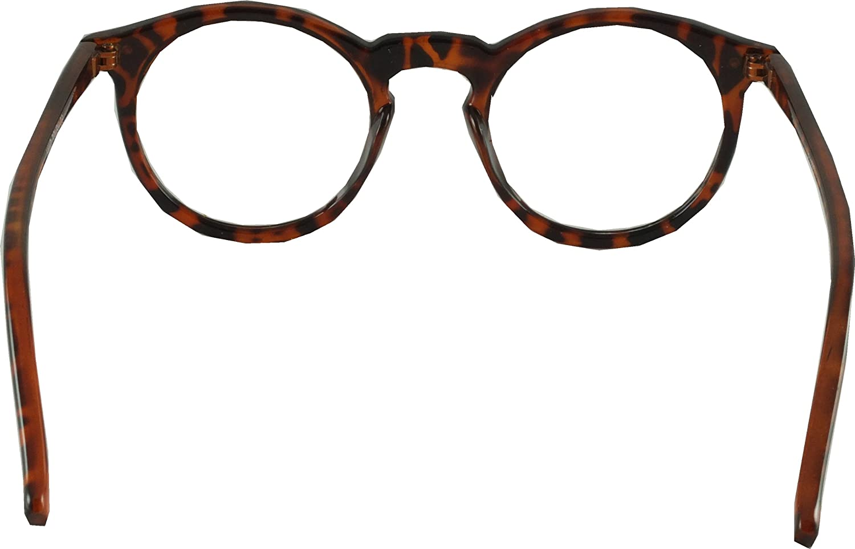 1d22024afd6e3d Revive Eyewear Lunettes Style Rétro années 30 geek Verres Transparents - Motif  écaille de tortue  Amazon.fr  Vêtements et accessoires