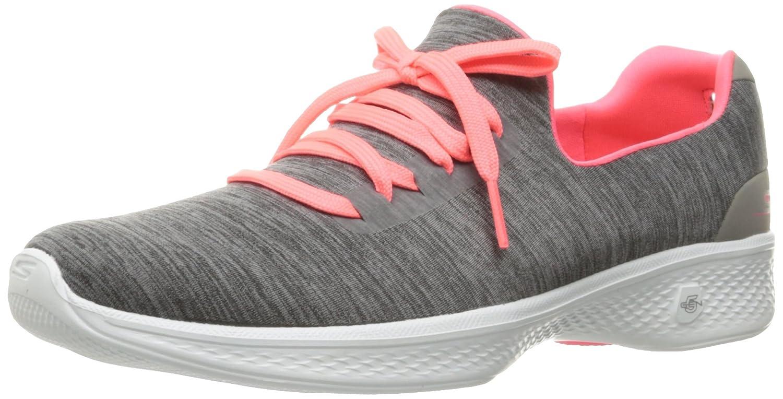 Skechers Damen Go Walk 4-A.d.c Sneaker, Grau  37.5 EU|Grau (Gypk)