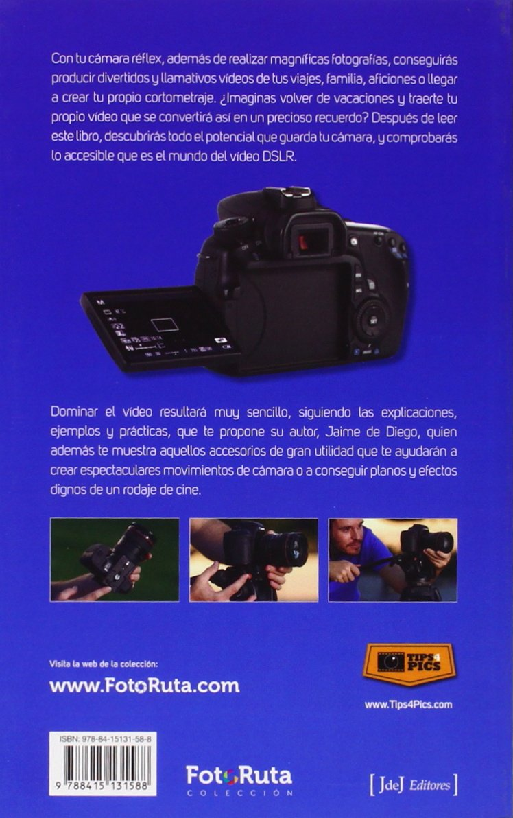 Domina El Modo Video De Tu Cámara Reflex (Foto-Ruta): Amazon.es ...