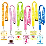 Hall Pass Lanyards Confetti-Themed Lanyard and